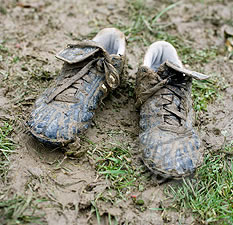 Cleaning your football boots