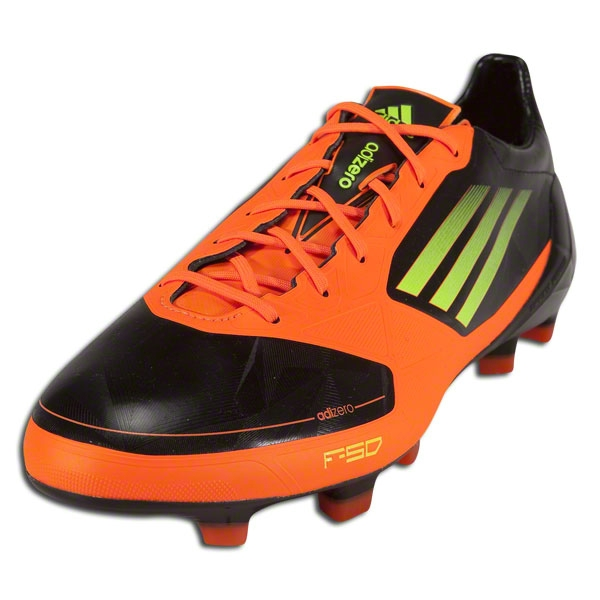 adidas adizero f50 black and orange