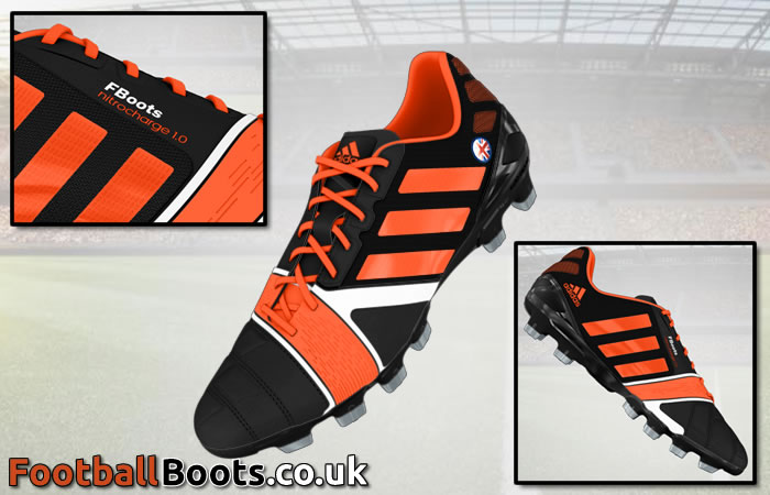 personalised football boots