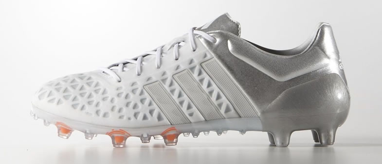 Adidas launch new white reflective silver ace 15 1 for Most reflective white paint