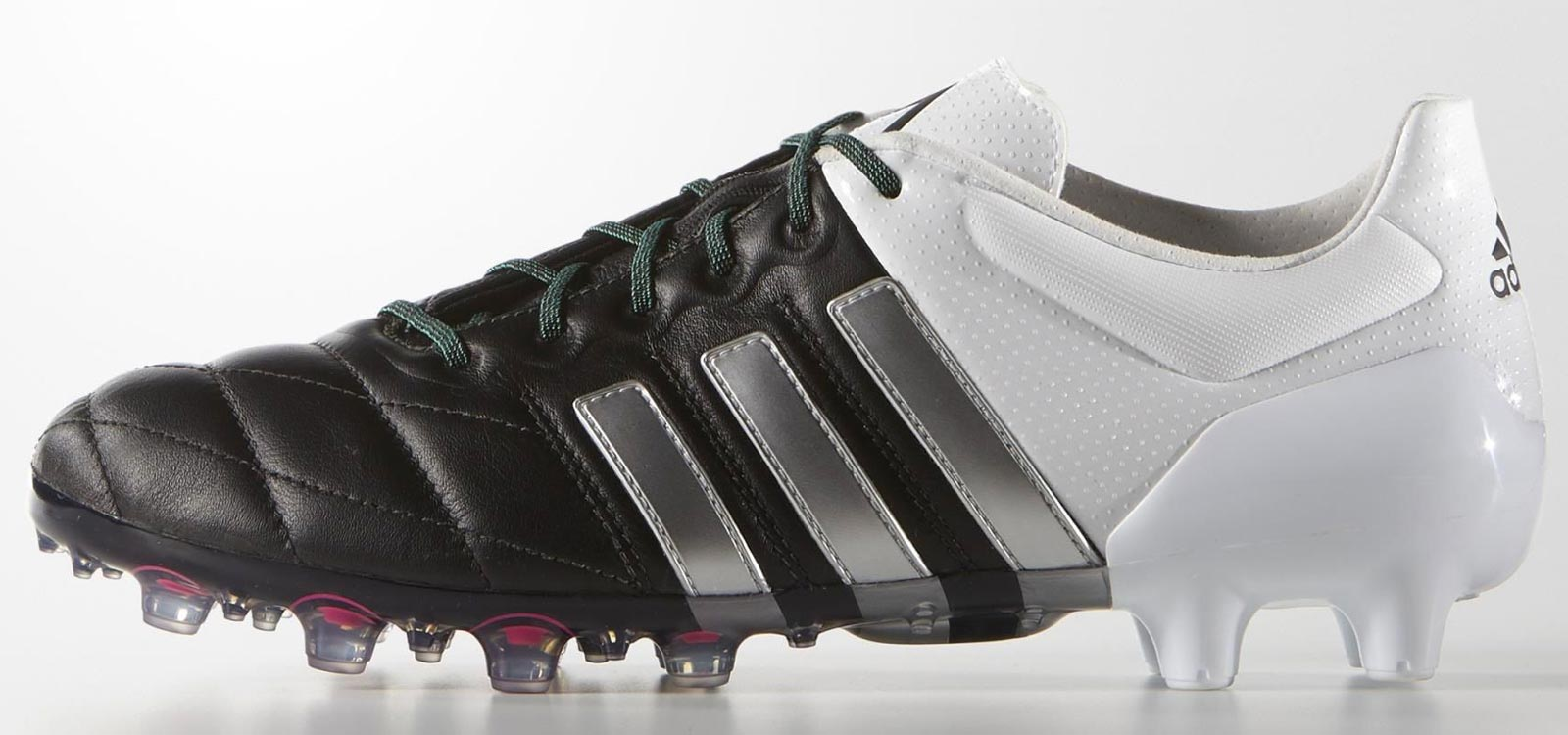 adidas ace 15 leather shock pink black football boots