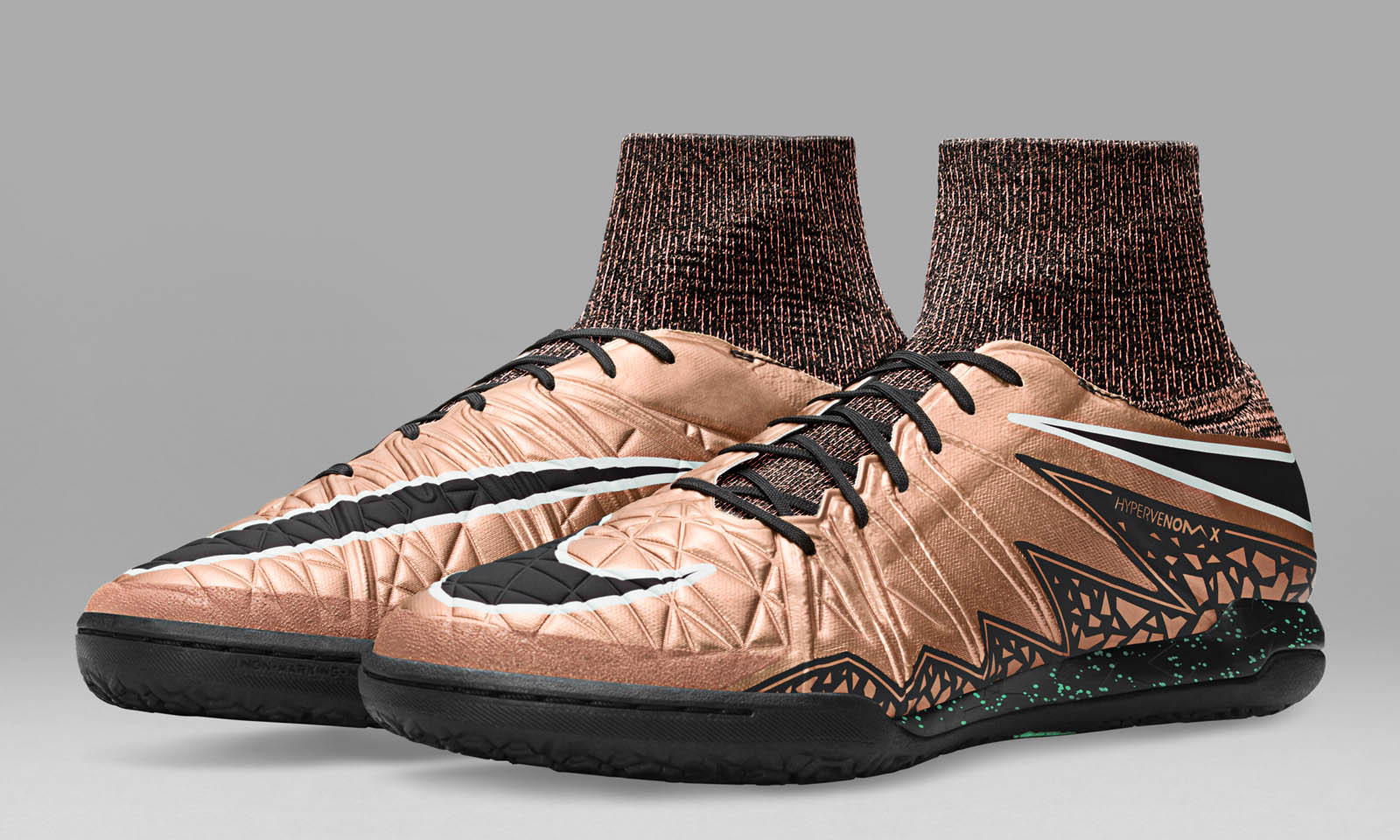 nike bronze hypervenomx proximo football boots. Black Bedroom Furniture Sets. Home Design Ideas
