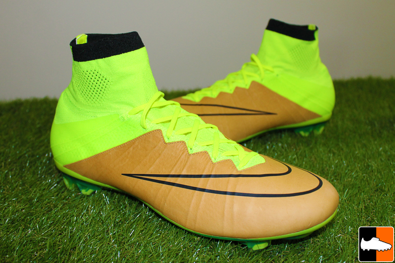 nike mercurial superfly fg football boots yellow fluo green; the headline  feature to the tech craft superfly boots is the added super thin and soft